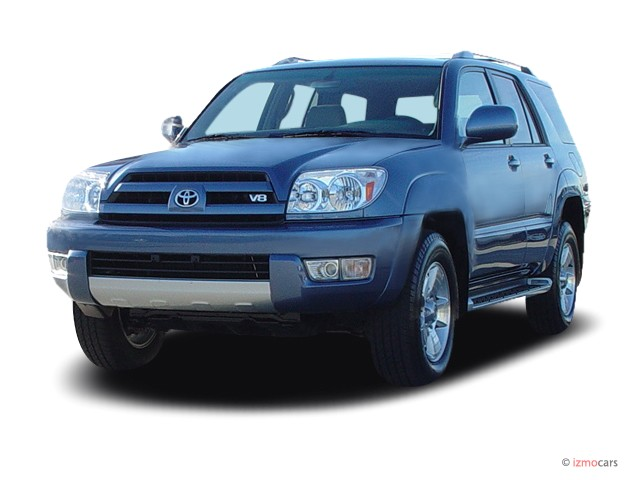 2003 Toyota 4Runner 4-door Limited V8 Auto 4WD (Natl) Angular Front Exterior View