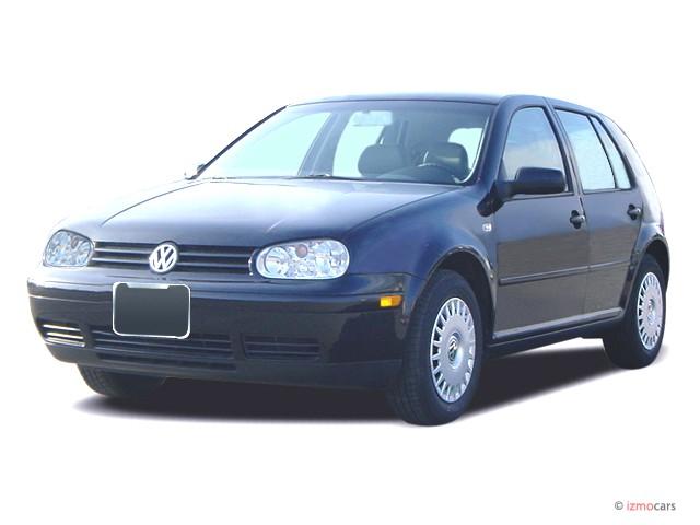 2003 Volkswagen Golf 4-door HB GL Manual Angular Front Exterior View