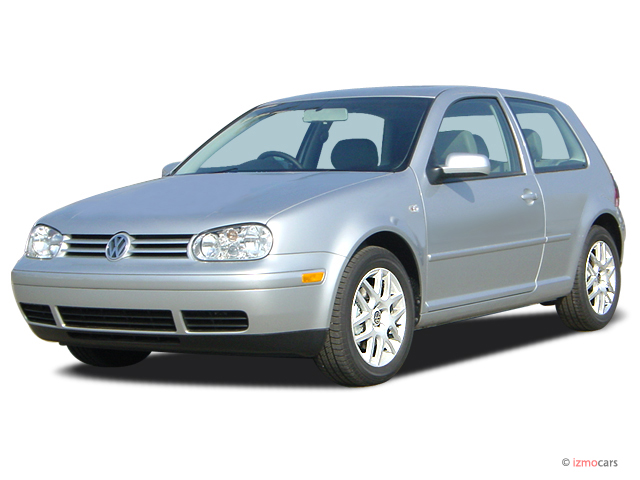 2003 Volkswagen GTI 2-door HB 1.8T 5-spd Manual Angular Front Exterior View