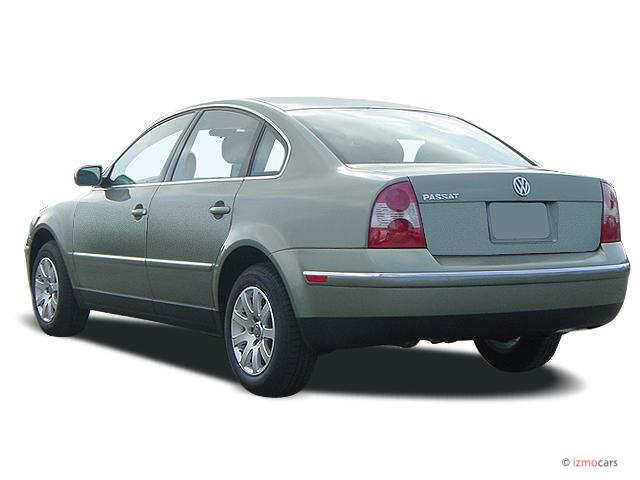 image  volkswagen passat  door sedan gls manual angular rear exterior view size