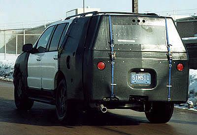 2003 Lincoln SUV