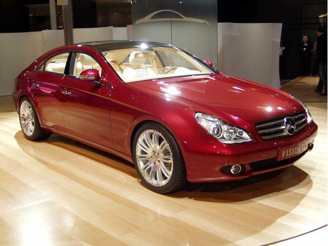 2003 Mercedes-Benz CLS concept