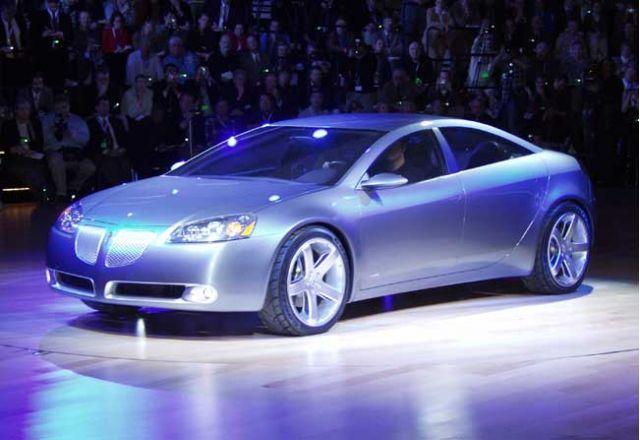 2003 Pontiac G6 concept