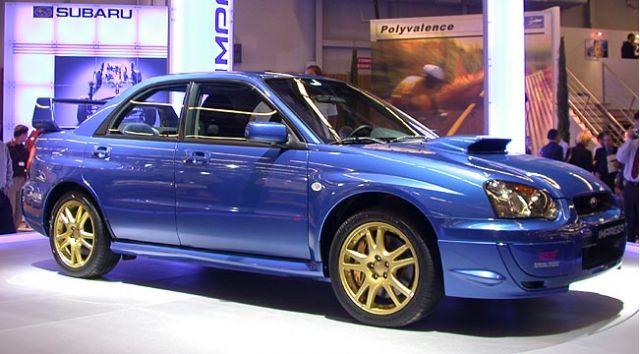 2003 Subaru WRX (Euro)