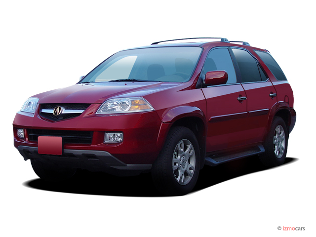 2004 Acura MDX 4-door SUV Touring Pkg w/Navigation Angular Front Exterior View