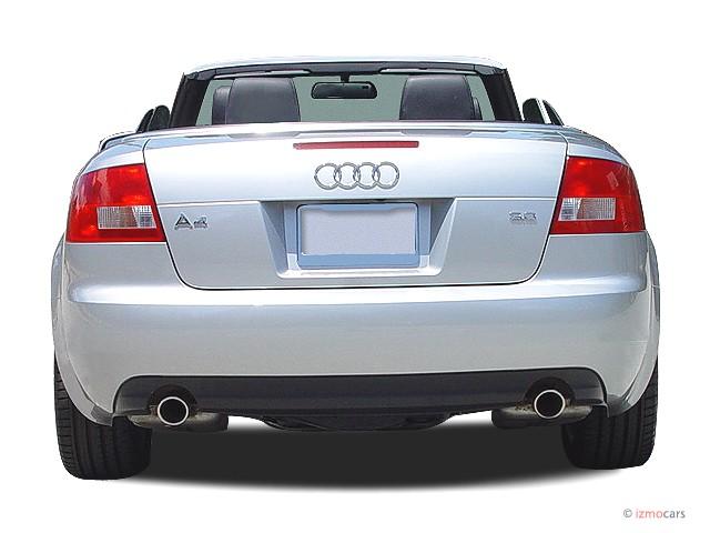 Image: 2004 Audi A4 2004 2-door Cabriolet 3.0L CVT Rear ...