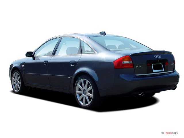 2004 Audi A6 4-door Sedan 2.7T S-Line quattro Auto Angular Rear Exterior View