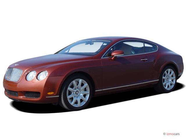 2005 Bentley Continental 2-door Coupe GT Angular Front Exterior View