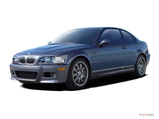 2006 BMW 3-Series M3 2-door Coupe Angular Front Exterior View