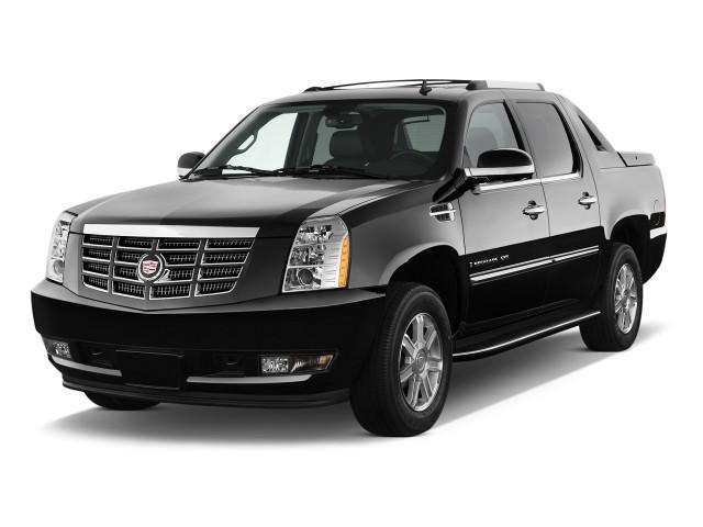 2010 Cadillac Escalade EXT AWD 4-door Base Angular Front Exterior View