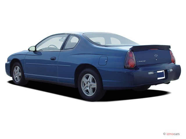 Image: 2004 Chevrolet Monte Carlo 2-door Coupe LS Angular ...