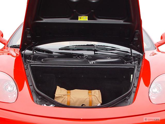 image 2004 360 2 door convertible spider trunk