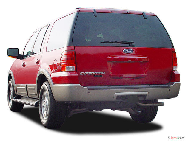Image: 2004 Ford Expedition 4.6L Eddie Bauer Angular Rear Exterior ...