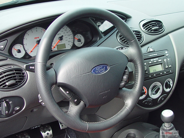 Ford Explorer Sport Trac 2017 >> Image: 2004 Ford Focus 5dr Sedan HB SVT Steering Wheel