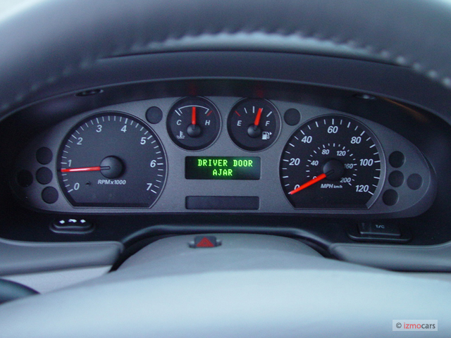 Image 2004 Ford Taurus 4 Door Wagon Sel Instrument
