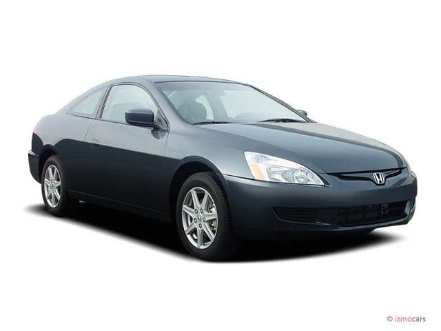 2004 Honda Accord Coupe EX Auto w/Leather/XM Angular Front Exterior View