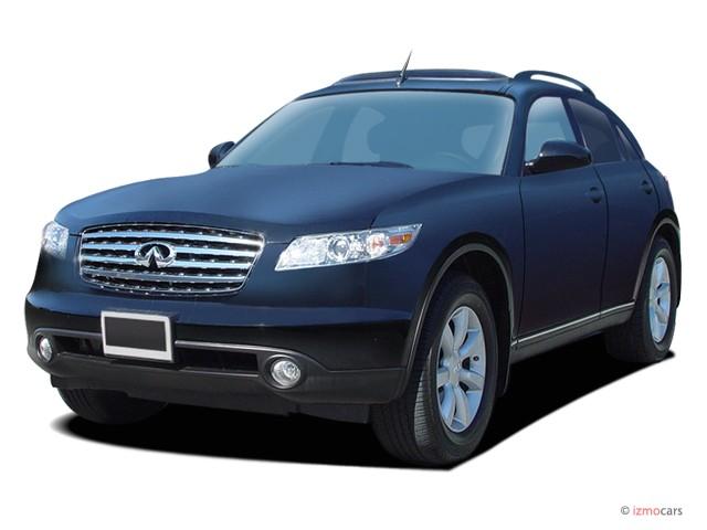 2004 Infiniti FX35 4-door AWD Angular Front Exterior View