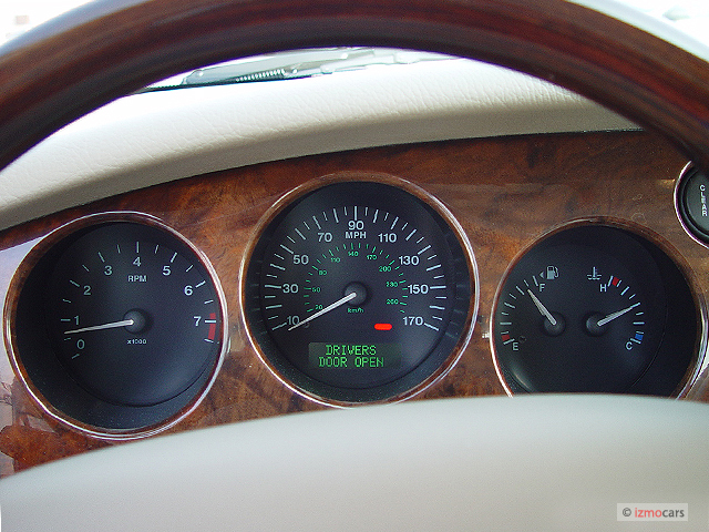 Image 2004 Jaguar Xk8 2 Door Coupe Xk8 Instrument Cluster