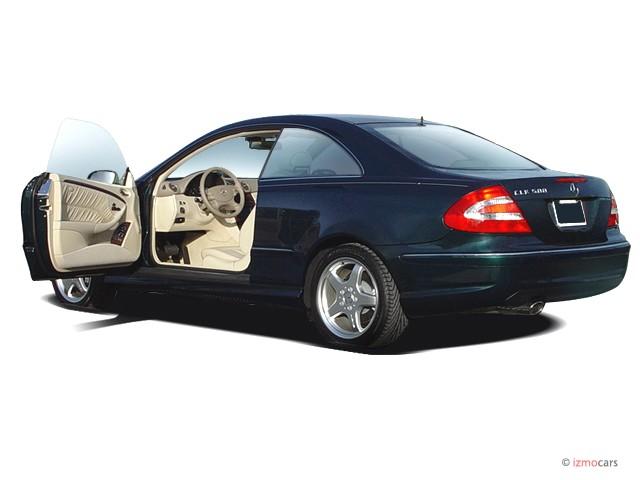 image 2004 mercedes benz clk class 2 door coupe 5 0l open. Black Bedroom Furniture Sets. Home Design Ideas