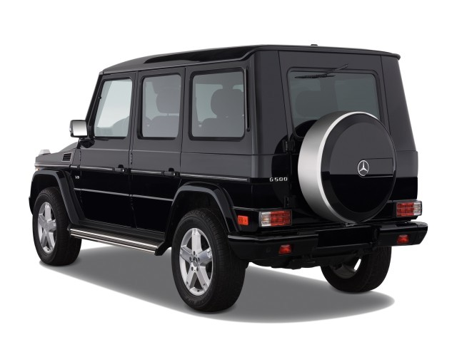 image 2008 mercedes benz g class 4wd 4 door 5 0l angular. Black Bedroom Furniture Sets. Home Design Ideas