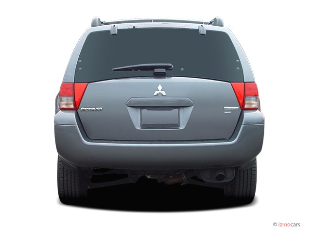 Image: 2004 Mitsubishi Endeavor 4-door LS Rear Exterior View, size: 640 x 480, type: gif, posted ...