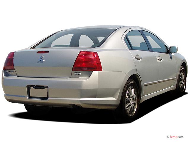 Image: 2004 Mitsubishi Galant 4-door Sedan ES 2.4L Auto Angular Rear Exterior View, size: 640 x ...