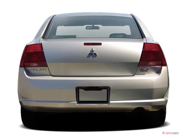 Image 2004 Mitsubishi Galant 4 Door Sedan Es 2 4l Auto Rear Exterior View Size 640 X 480