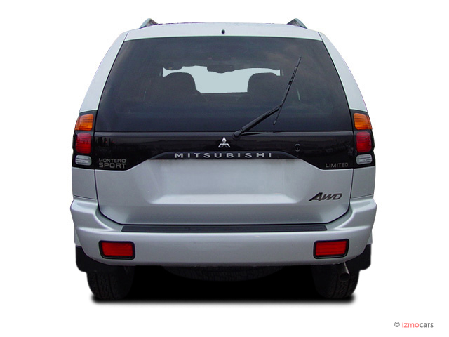 Image 2004 Mitsubishi Montero Sport 4 Door Ls Rear