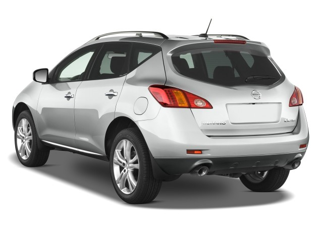Image: 2009 Nissan Murano AWD 4-door LE Angular Rear ...