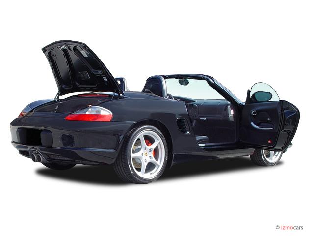 2004 Porsche Boxster 2-door Roadster S Tiptronic Open Doors