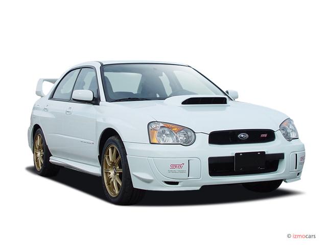 2004 Subaru Impreza Sedan (Natl) 2.0 WRX Manual Angular Front Exterior View