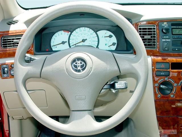 image 2003 toyota corolla 4 door sedan le manual natl steering wheel size 640 x 480 type. Black Bedroom Furniture Sets. Home Design Ideas