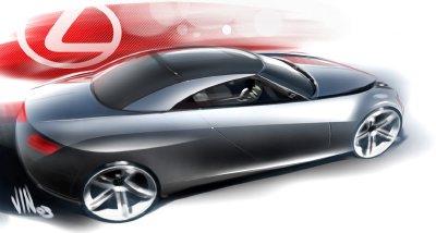 2004 Lexus LF-C concept