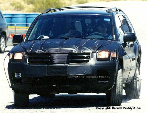 2004 Mitsubishi Montero Sport spy