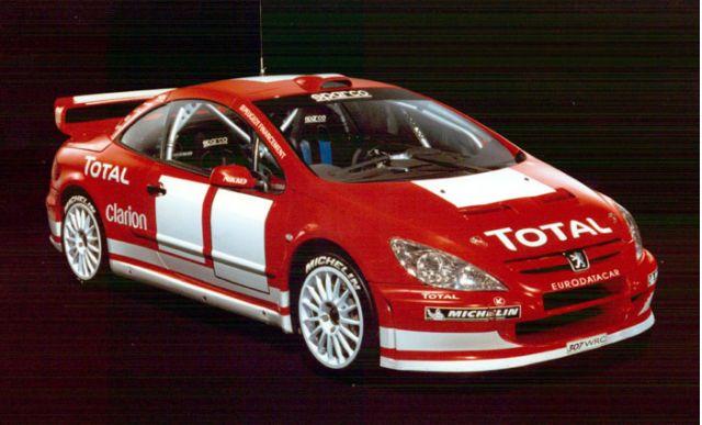 2004 Peugeot 307 WRC