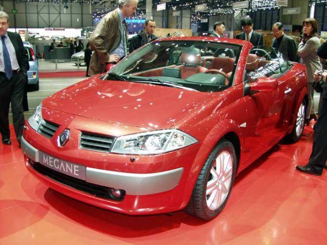 2004 Renault Megane Cabriolet