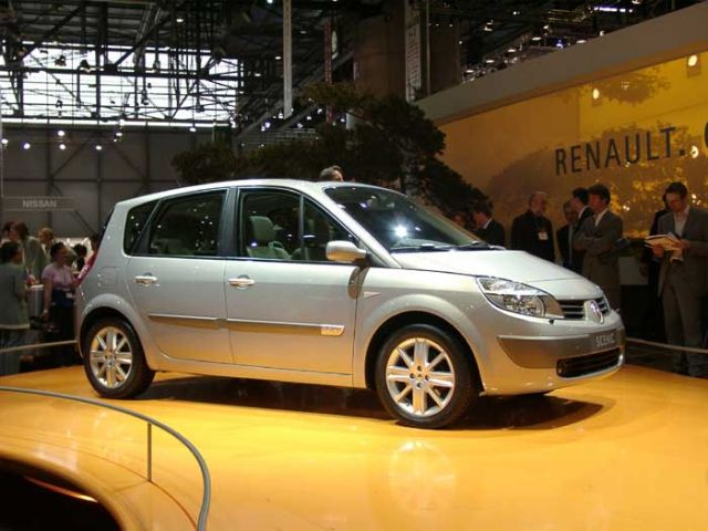 2004 Renault Megane Scenic