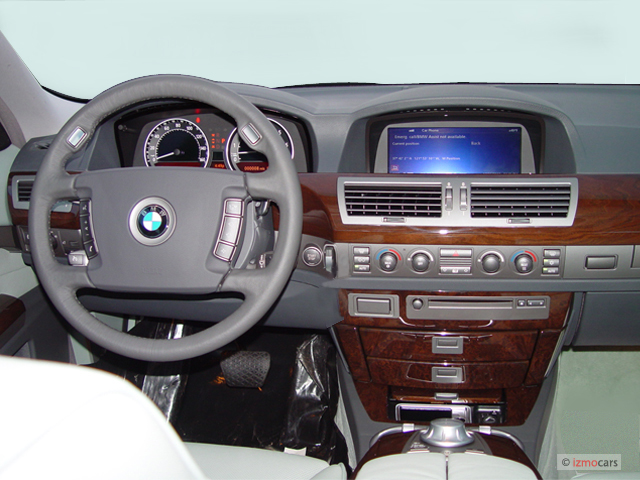 Image 2005 Bmw 7 Series 745li 4 Door Sedan Dashboard Size 640 X 480 Type Gif Posted On