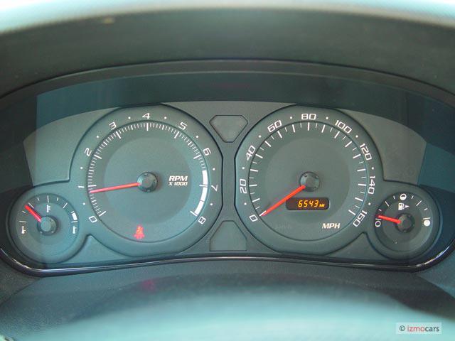2005 Cadillac SRX 4-door V8 SUV Instrument Cluster