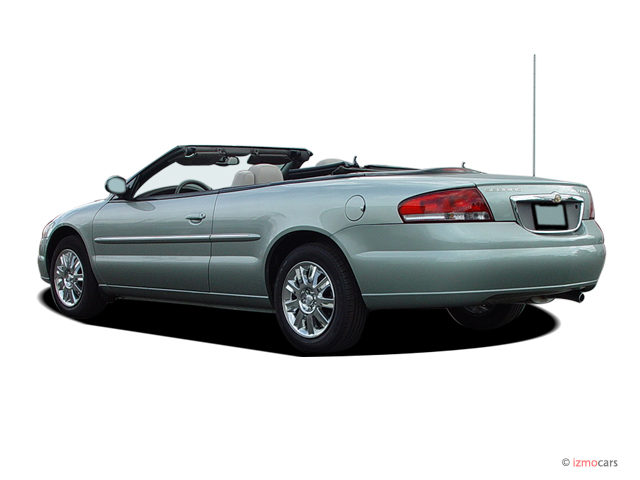 image 2005 chrysler sebring convertible 2 door limited angular rear exterior view size 640 x. Black Bedroom Furniture Sets. Home Design Ideas