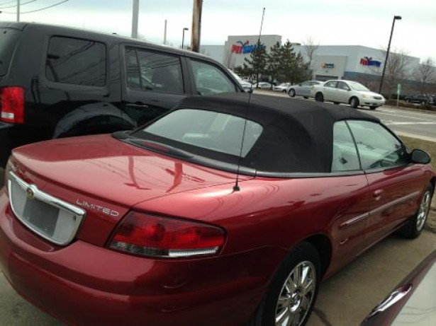 2005 Chrysler Sebring Convertible used car