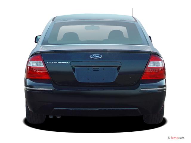 image 2005 ford five hundred 4 door sedan se rear exterior view size 640 x 480 type gif. Black Bedroom Furniture Sets. Home Design Ideas