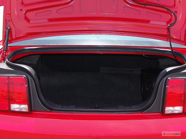 Ford Mustang Door Coupe Gt Premium Trunk M