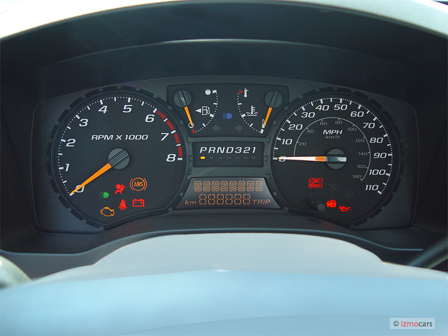 "Image: 2005 GMC Canyon Reg Cab 111.2"" WB SL Z85 Instrument Cluster, size: 640 x 480, type: gif ..."
