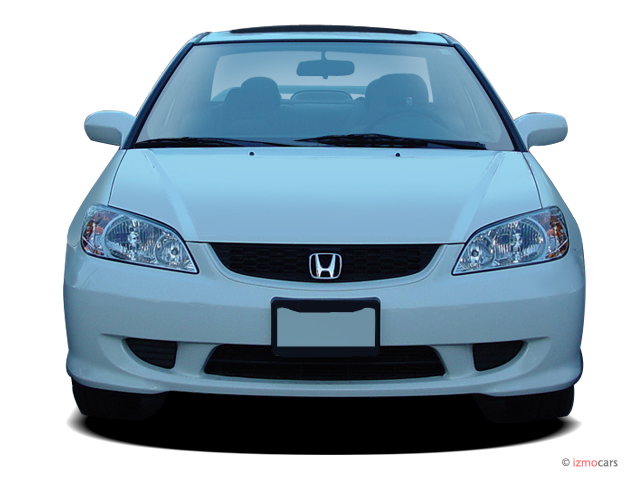Image 2005 Honda Civic Coupe Ex At Se Front Exterior View