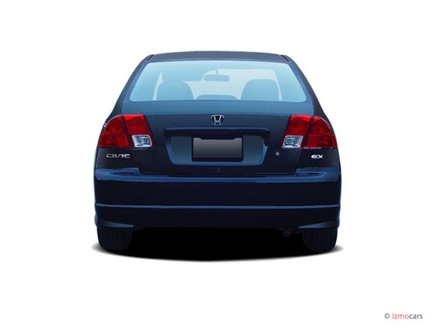 image  honda civic sedan   se rear exterior view size    type gif posted