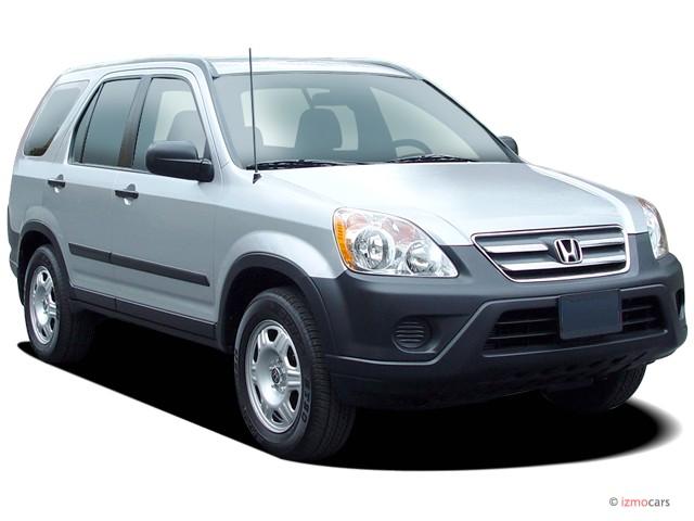 2005 Honda CR-V 4WD LX AT Angular Front Exterior View
