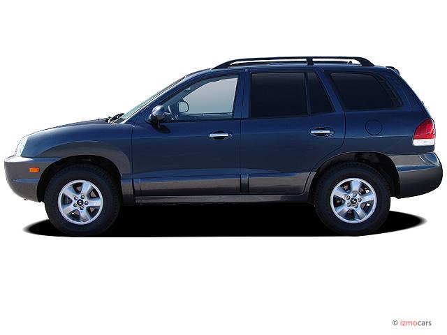 2005 Hyundai Santa Fe 4-door LX 4WD 3.5L Auto Side Exterior View