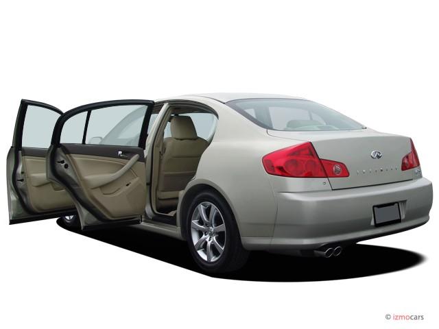 Image 2005 Infiniti G35 Sedan G35 4 Door Sedan Auto Open