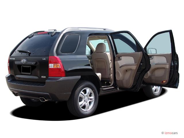 image 2005 kia sportage 4 door lx 4wd v6 auto open doors. Black Bedroom Furniture Sets. Home Design Ideas